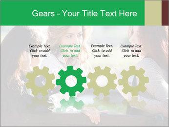 Girlfriends talking PowerPoint Template - Slide 48