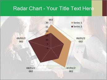 Girlfriends talking PowerPoint Template - Slide 51