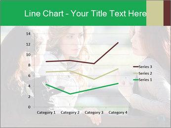 Girlfriends talking PowerPoint Template - Slide 54