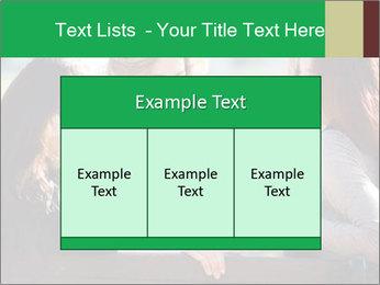 Girlfriends talking PowerPoint Template - Slide 59