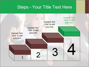 Girlfriends talking PowerPoint Template - Slide 64