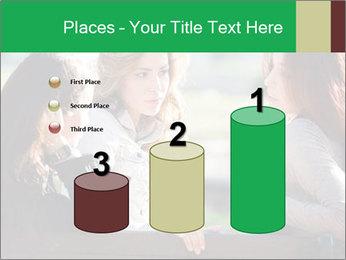 Girlfriends talking PowerPoint Template - Slide 65