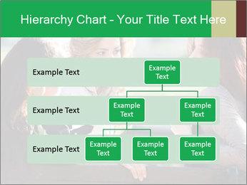 Girlfriends talking PowerPoint Template - Slide 67