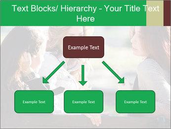 Girlfriends talking PowerPoint Template - Slide 69