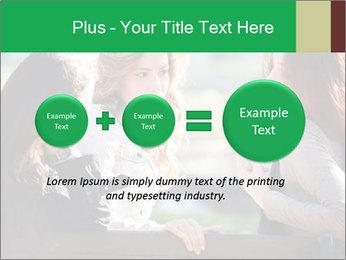 Girlfriends talking PowerPoint Template - Slide 75