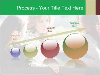 Girlfriends talking PowerPoint Template - Slide 87