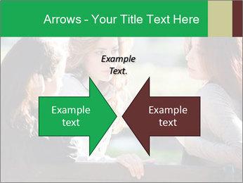 Girlfriends talking PowerPoint Template - Slide 90
