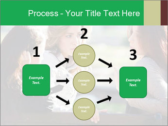Girlfriends talking PowerPoint Template - Slide 92