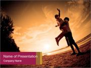 Happiness and romantic PowerPoint Templates