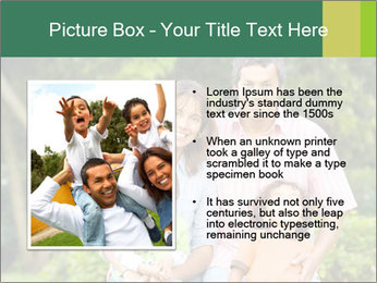 Happy family portrait PowerPoint Template - Slide 13
