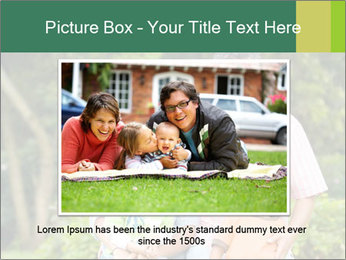 Happy family portrait PowerPoint Template - Slide 15