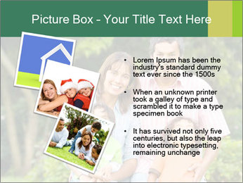 Happy family portrait PowerPoint Template - Slide 17