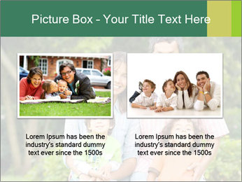 Happy family portrait PowerPoint Template - Slide 18
