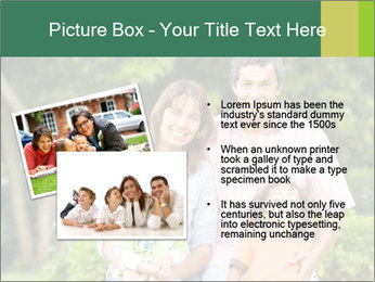 Happy family portrait PowerPoint Template - Slide 20