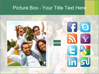 Happy family portrait PowerPoint Template - Slide 21