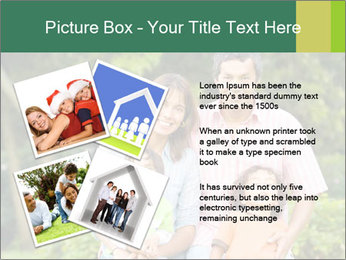 Happy family portrait PowerPoint Template - Slide 23