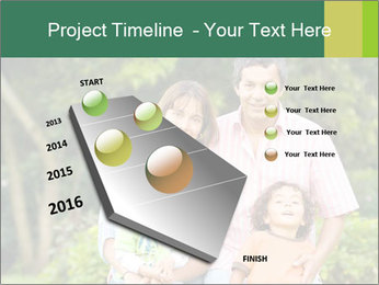 Happy family portrait PowerPoint Template - Slide 26