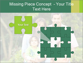 Happy family portrait PowerPoint Template - Slide 45