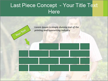 Happy family portrait PowerPoint Template - Slide 46