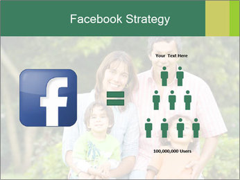 Happy family portrait PowerPoint Template - Slide 7