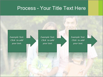 Happy family portrait PowerPoint Template - Slide 88
