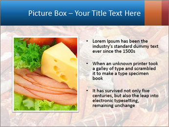 Selection of cold meat PowerPoint Template - Slide 13