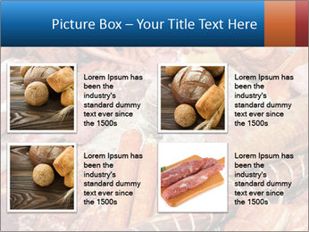 Selection of cold meat PowerPoint Template - Slide 14