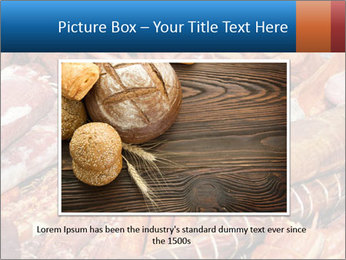 Selection of cold meat PowerPoint Template - Slide 15