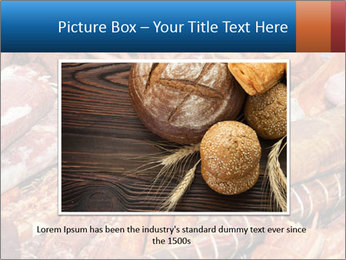 Selection of cold meat PowerPoint Template - Slide 16