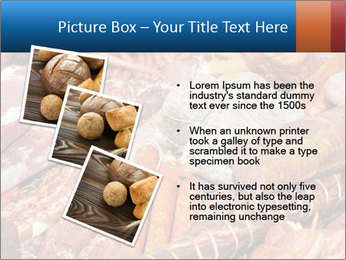 Selection of cold meat PowerPoint Template - Slide 17