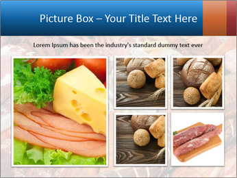 Selection of cold meat PowerPoint Template - Slide 19