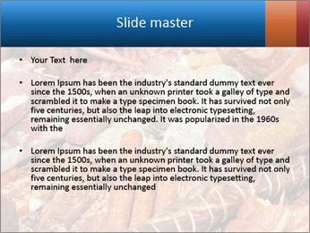Selection of cold meat PowerPoint Template - Slide 2