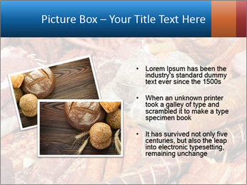 Selection of cold meat PowerPoint Template - Slide 20