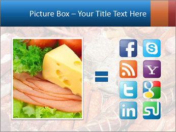 Selection of cold meat PowerPoint Template - Slide 21