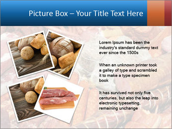 Selection of cold meat PowerPoint Template - Slide 23