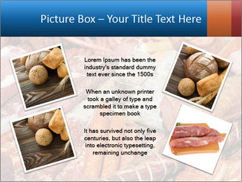 Selection of cold meat PowerPoint Template - Slide 24