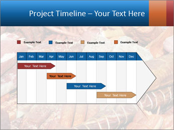 Selection of cold meat PowerPoint Template - Slide 25