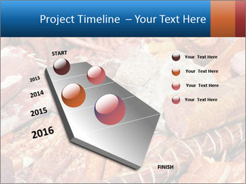 Selection of cold meat PowerPoint Template - Slide 26