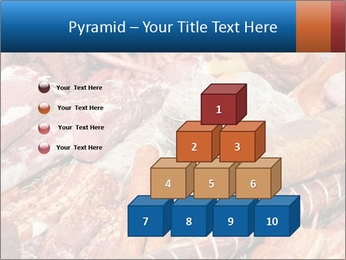 Selection of cold meat PowerPoint Template - Slide 31