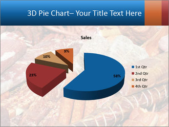 Selection of cold meat PowerPoint Template - Slide 35