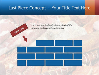 Selection of cold meat PowerPoint Template - Slide 46