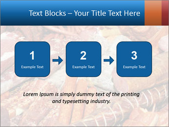 Selection of cold meat PowerPoint Template - Slide 71