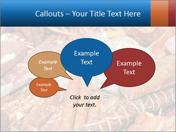 Selection of cold meat PowerPoint Template - Slide 73