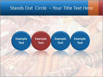Selection of cold meat PowerPoint Template - Slide 76
