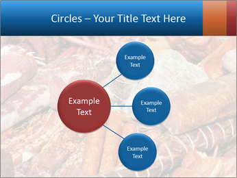 Selection of cold meat PowerPoint Template - Slide 79