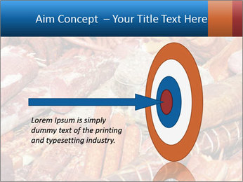 Selection of cold meat PowerPoint Template - Slide 83