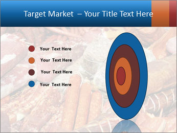 Selection of cold meat PowerPoint Template - Slide 84