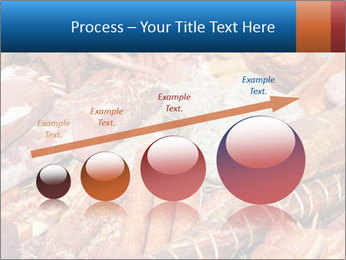 Selection of cold meat PowerPoint Template - Slide 87