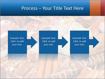 Selection of cold meat PowerPoint Template - Slide 88