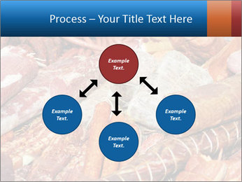 Selection of cold meat PowerPoint Template - Slide 91